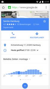 Google Shopping Times