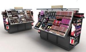 Artikel für die Schönheit, auch im SB-Warenhaus blendend präsentiert für die Marke Lancôme.