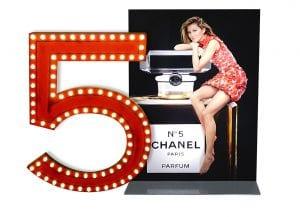 Das Schaufenster darf nicht fehlen ... und Chanel Nr.5 sollte immer dabei sein ...