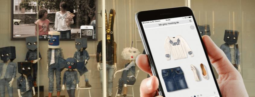 Window Shopping - Grey Shopper