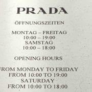 Ladenöffnungszeiten