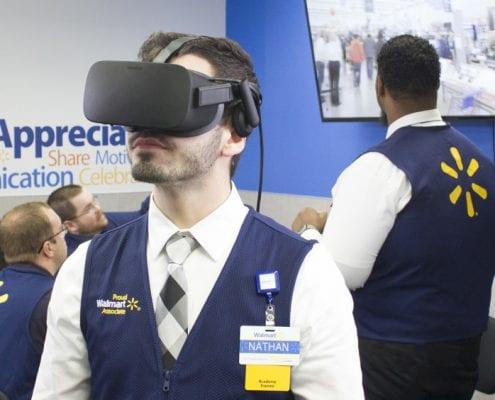 VR bei Walmart
