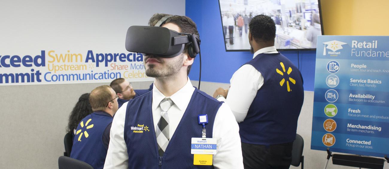 140.000 geschulte Walmart-Mitarbeiter mittels Virtual Reality Training
