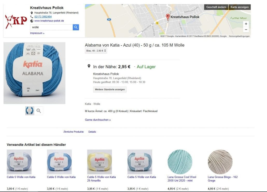vgoogle local inventory ads