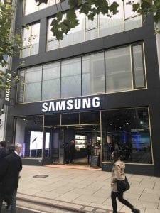 So Funzt es bei Samsung auf der Zeil - Brand Content und Retail Experience