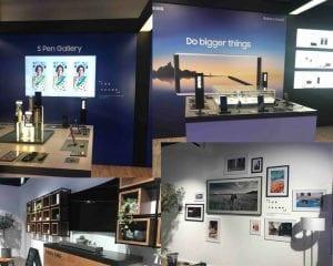 So funzt es bei Samsung auf der Zeil Brand Content und Retail Experience