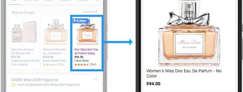 Google Local Inventory Ads - das digitale Schaufenster