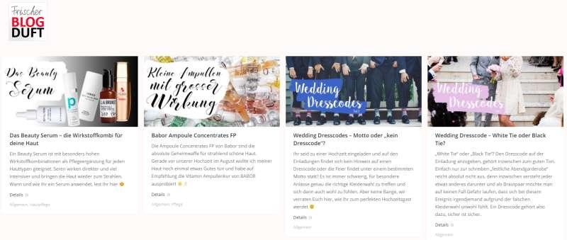 Blogduft