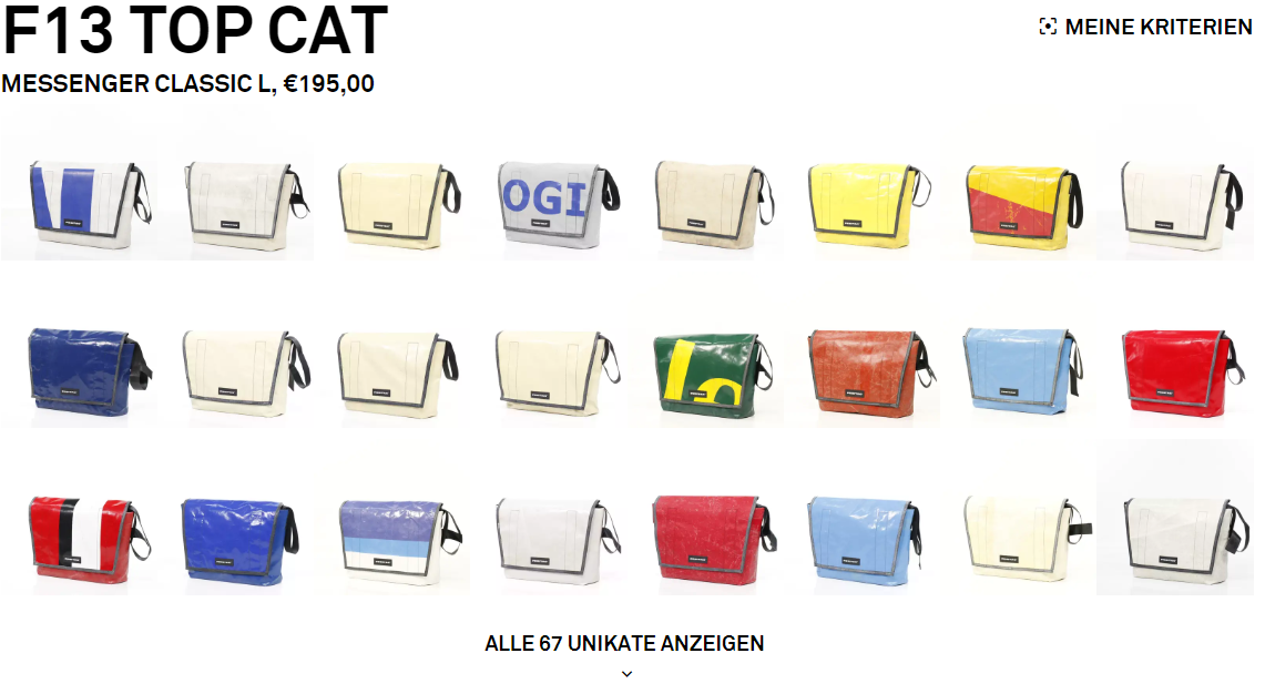 Freitag F13 TOP CAT