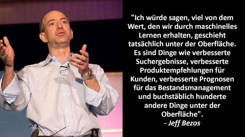 Jeff Bezos Zitat KI