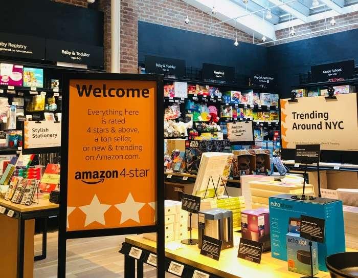 Amazon 4 star trending nyc