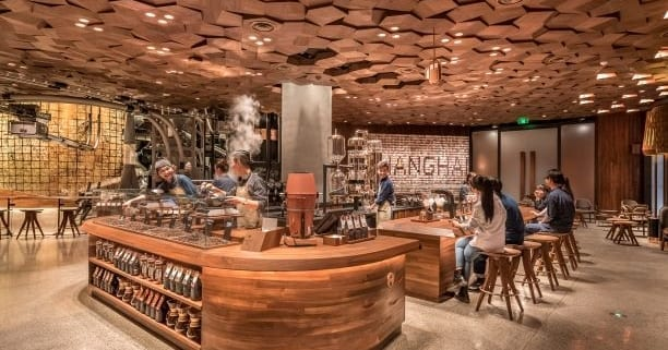 Starbucks Flagship-Store in Shanghai