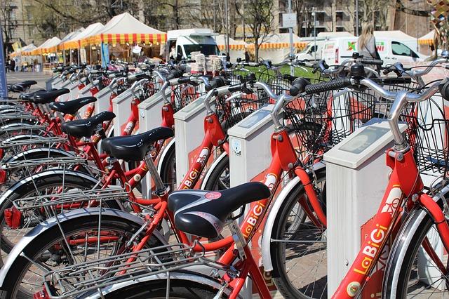 Sharing-Dienste: Fahrräder