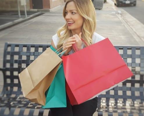Einkaufserlebnis im stationären Handel