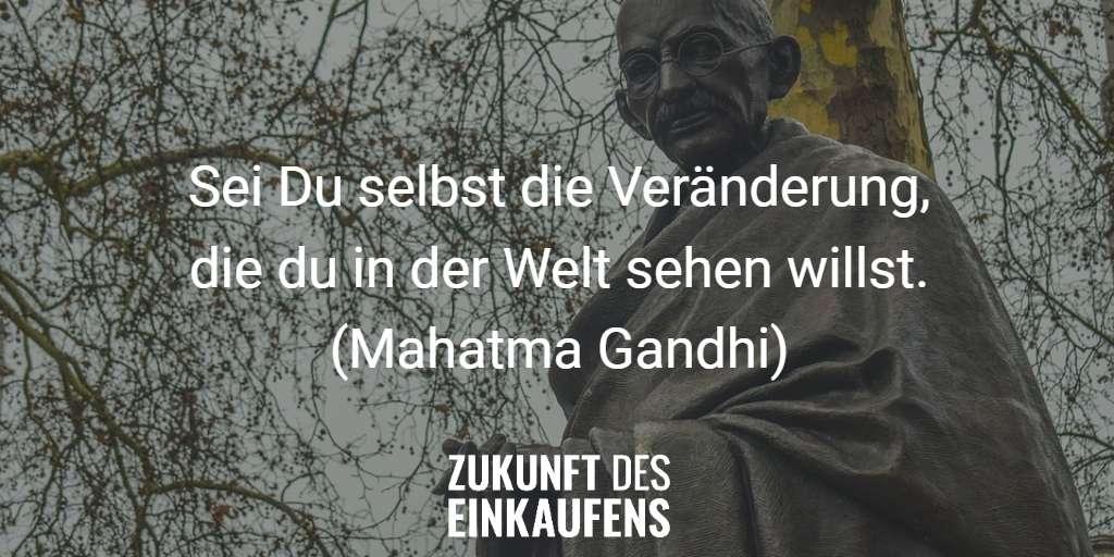 Veränderung Gandhi