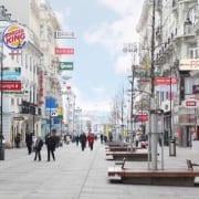 Einkaufsstraßen