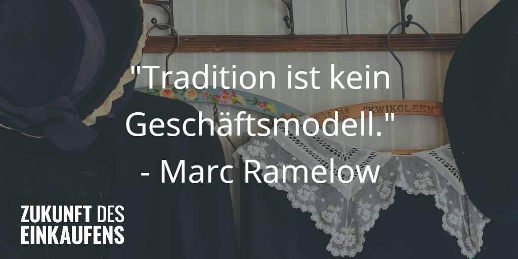 Tradition ist kein Geschäftsmodell