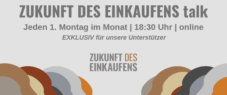 ZUKUNFT DES EINKAUFENS talk