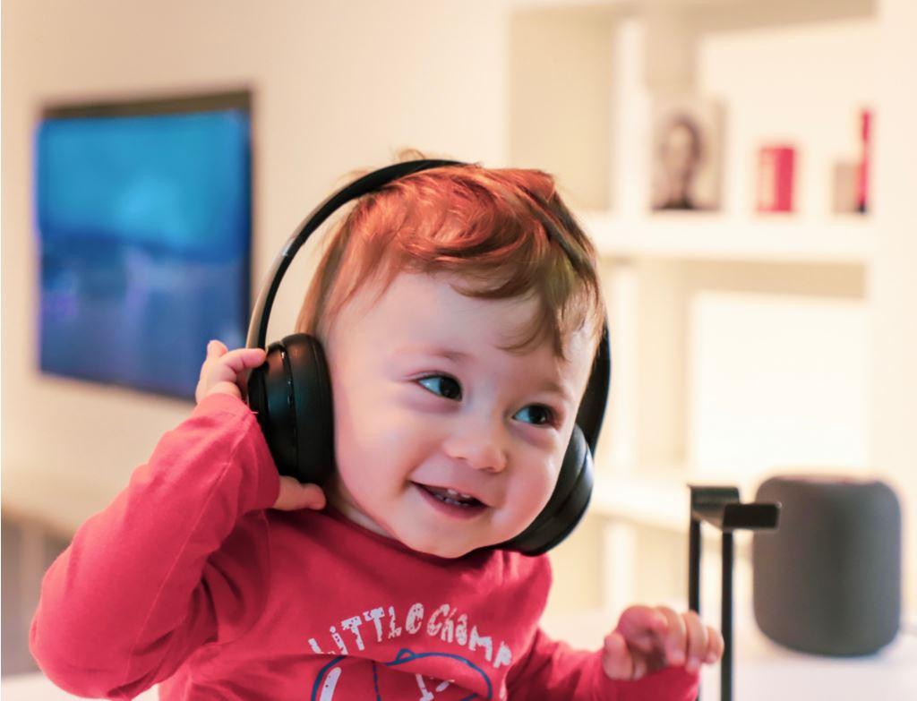 Sound und Musik im Geschäft