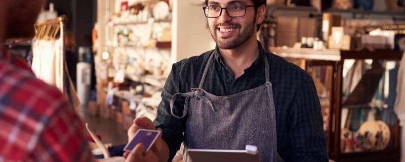 Kartenzahlung im stationären Handel