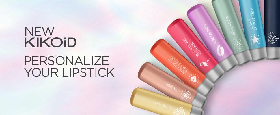 Personalisierte Kosmetikartikel von KIKO