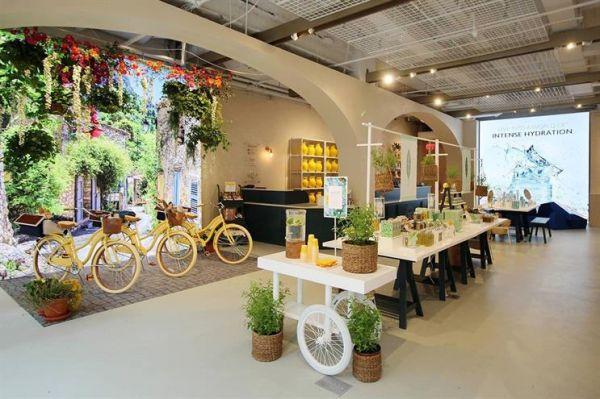 Erlebnis-Einzelhandel bei LOccitaine