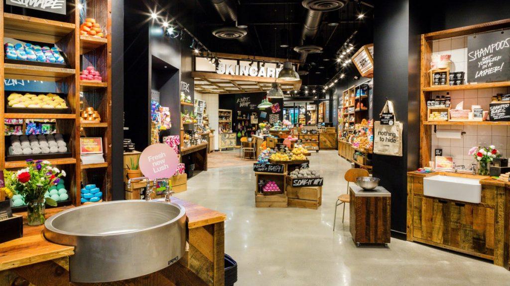 Lush Erlebnis-Einzelhandel