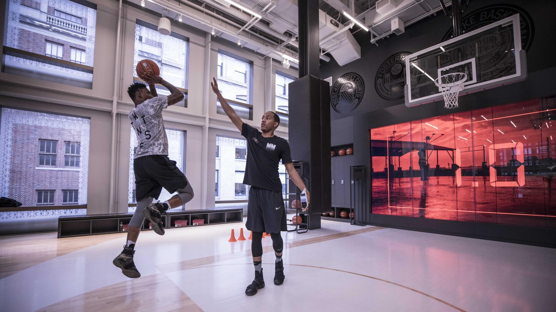 Erlebnis-Einkauf bei Nike