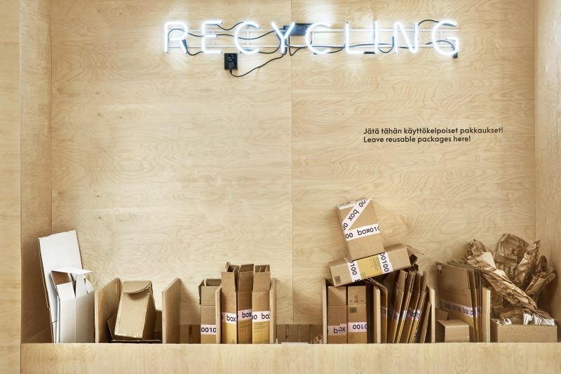 Posti Box Recycling