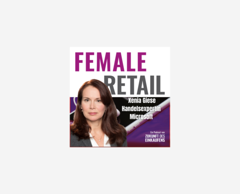 Xenia Giese im Female Retail Podcast